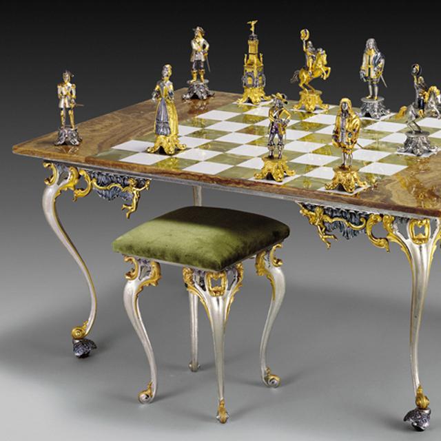 The Sun King Chess Set & The Sun King Chess Set | Must Of Italy