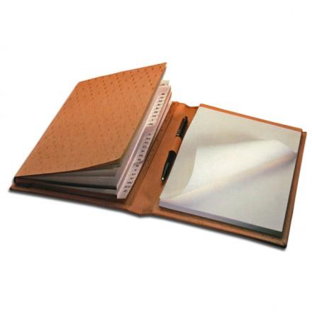Cork-Leather Address Book