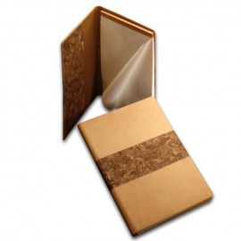 Cork-Leather Folder with Pad