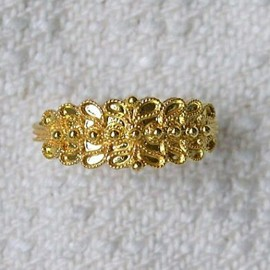 Sardinian Wedding Ring 1S