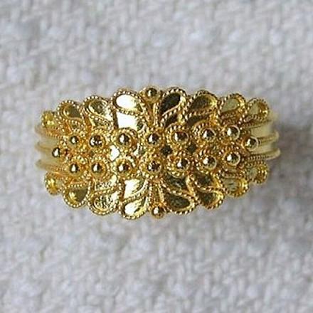 Sardinian Wedding Ring 2S
