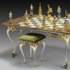 The Sun King Chess Set
