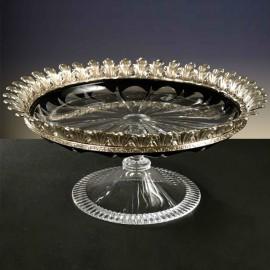 Cellini Crystal Vase