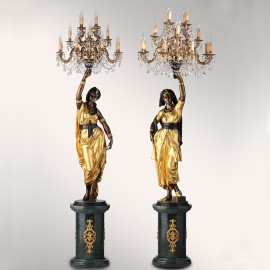 Pair of Egyptian
