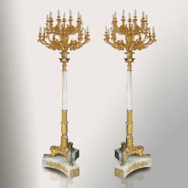 Coppia candelieri