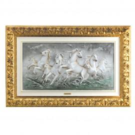 Cavalli sulla marina