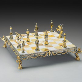 FLORENTINE RENASSAINCE CHESS SET