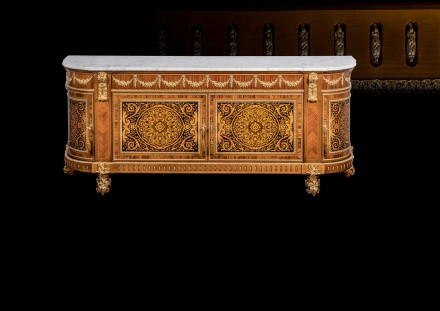 Fully Inlaid Sideboard