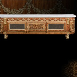 Fully Inlaid Sideboard 2