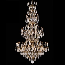 Magnificent Chandelier Quartz Crystal Drops